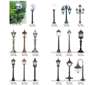 European classical lawn lamp